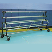 Cover Sports USA Storage Rack for Gym Floor Covers - 6 Roller