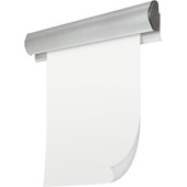 """MooreCo Best-Bite Tackless Paper Holders , 4/Carton - 8'W x 1-1/2""""H"""