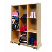 9 Cubby Storage And Teaching Center