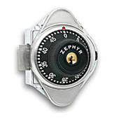Zephyr Key Controlled Combination Lock for Single Point or Box Lockers with Specified Serial Number - Right Hand