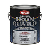 Safety Blue (OSHA)  -  Iron Guard Acrylic Enamel Industrial Coating, 4/cs