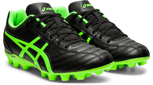 ASICS Flash IT GS Black/Green Gecko