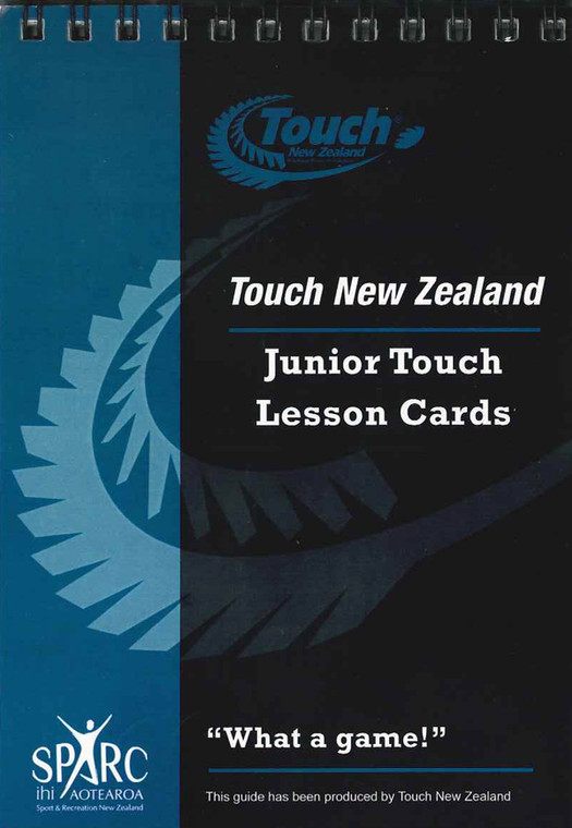Touch NZ Junior Touch Lesson Cards