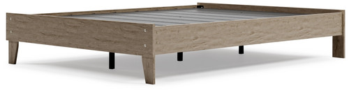 Oliah Natural Queen Platform Bed