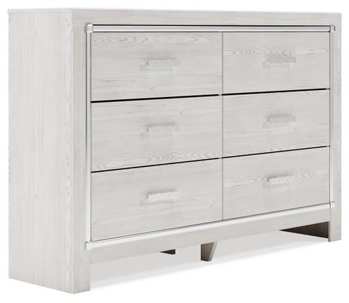 Altyra White Dresser