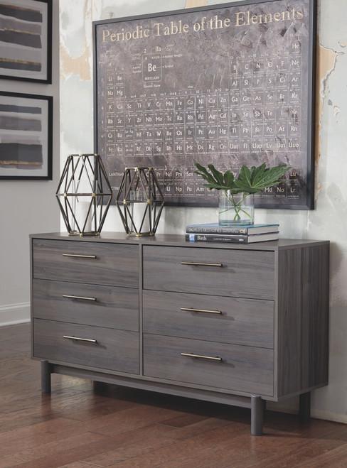 Brymont Dark Gray Dresser