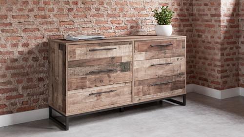 Neilsville Multi Gray Dresser