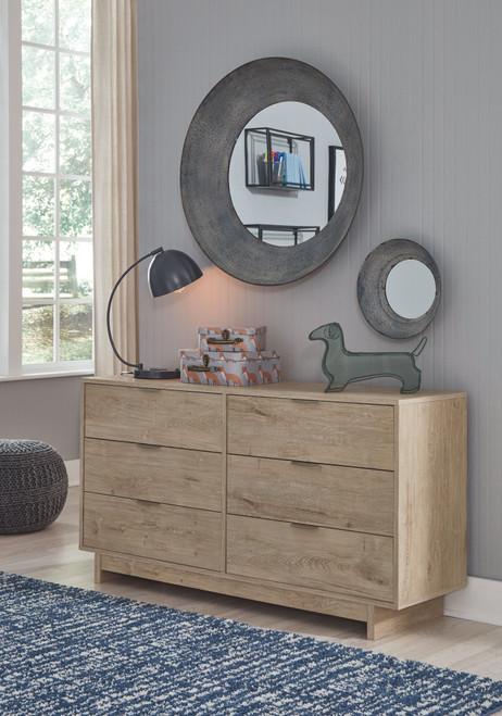 Oliah Natural Dresser