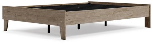 Oliah Natural Full Platform Bed
