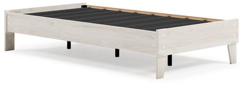 Socalle Natural Twin Platform Bed