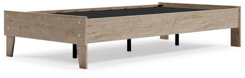 Oliah Natural Twin Platform Bed