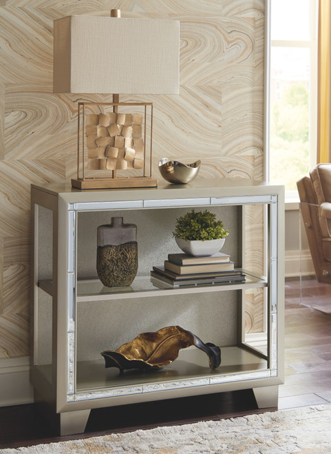 Chaseton Metallic Gray Accent Cabinet