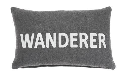 Wanderer Charcoal Pillow (4/CS)