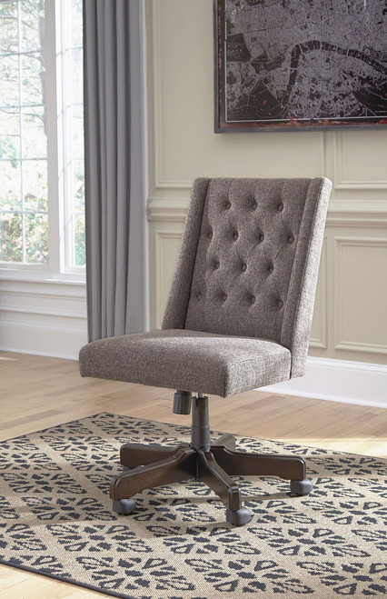 Office Chair Program Graphite Home Office Swivel Desk Chair