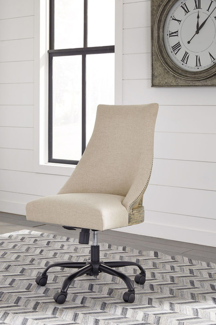 Office Chair Program Linen Home Office Swivel Desk Chair