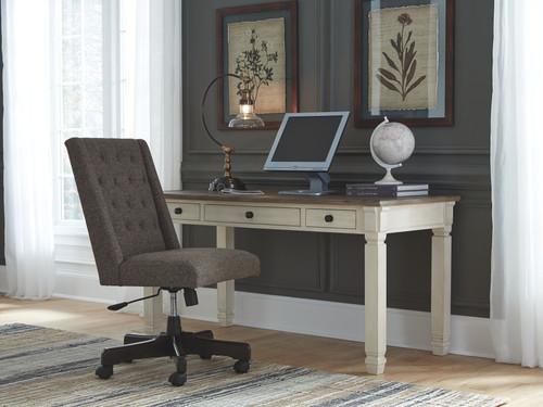 Bolanburg Two-tone Home Office Desk & Swivel Chair