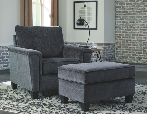 Abinger Smoke Chair with Ottoman