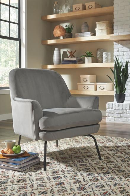 Dericka Steel Accent Chair
