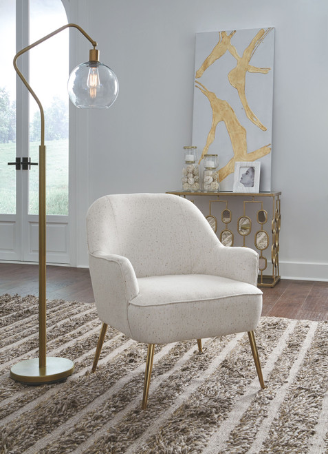 Genessee Beige Accent Chair