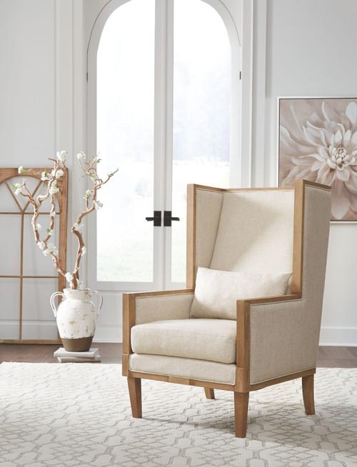 Avila Linen Accent Chair