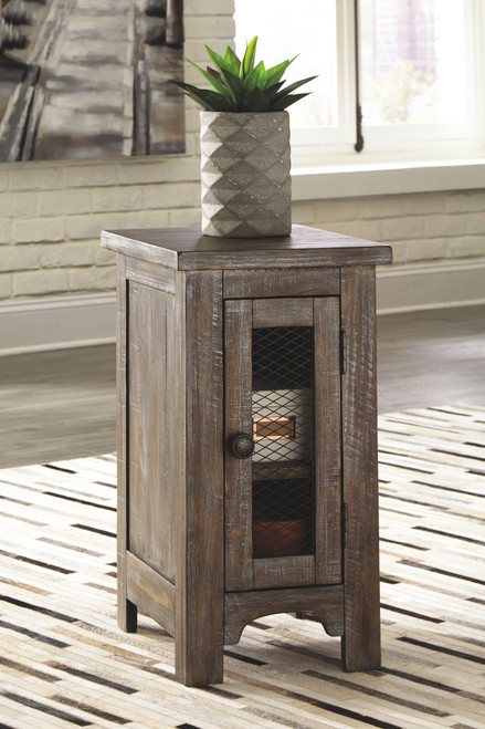 Danell Ridge Brown Chair Side End Table