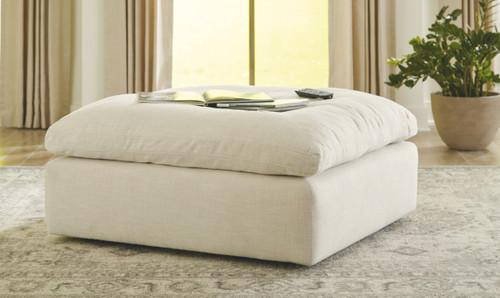 Tanavi Linen Oversized Accent Ottoman