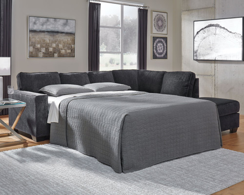 Altari Slate LAF Full Sofa Sleeper
