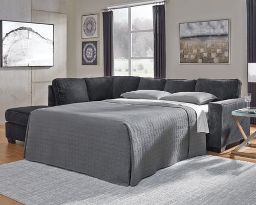 Altari Slate RAF Full Sofa Sleeper
