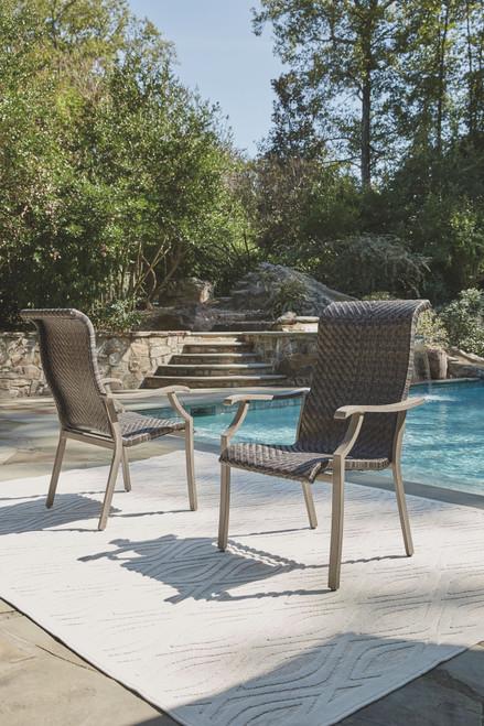 Windon Barn Brown Arm Chair