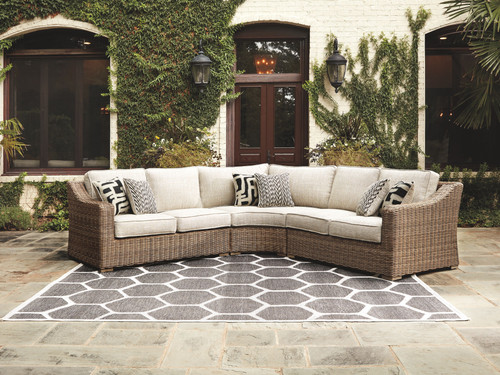 Beachcroft Beige 3 Pc. Sectional Lounge