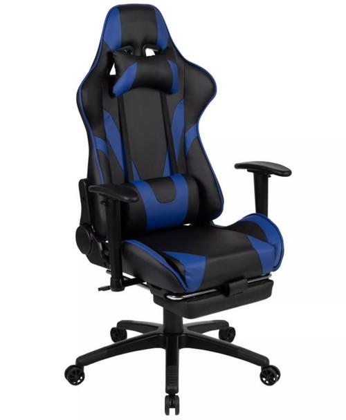 300 Ergonomic Racing Style Gaming Chair- Blue