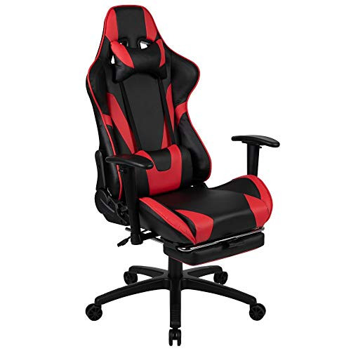 300 Ergonomic Racing Style Gaming Chair- Red