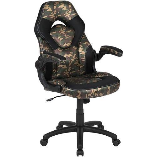 100 Ergonomic Racing Style Gaming Chair- Camo