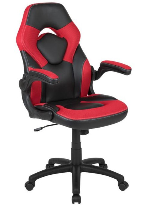 100 Ergonomic Racing Style Gaming Chair- Red