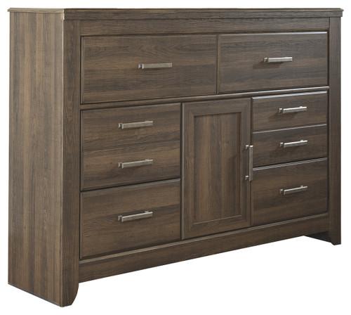Juararo Dark Brown Dresser