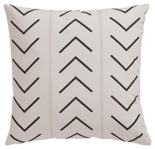 Kallan White/Black Pillow (4/CS)