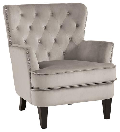 Romansque Beige Accent Chair