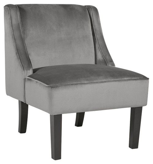 Janesley Gray Accent Chair