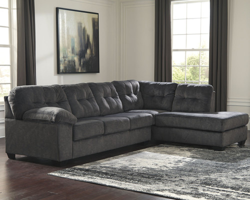 Accrington Granite Sleeper Sectional with Chaise