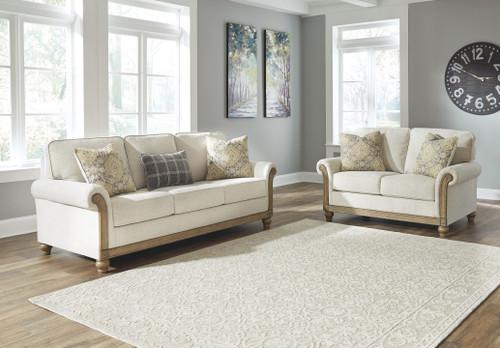 Stoneleigh Alabaster 2 Pc. Sofa, Loveseat