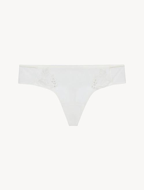 Perizoma off-white in tulle stretch
