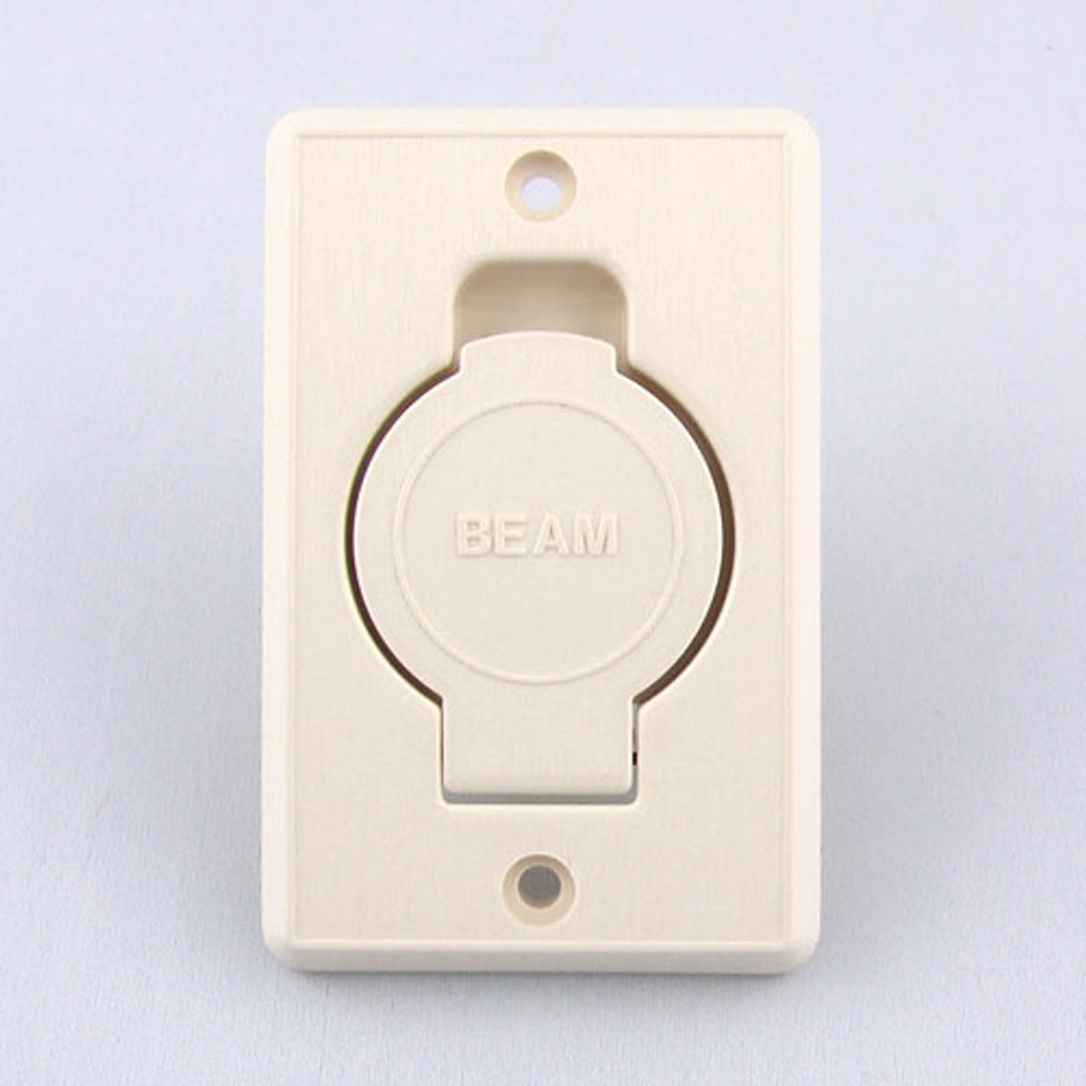 Beam Central Vacuum Inlet Valve - Almond