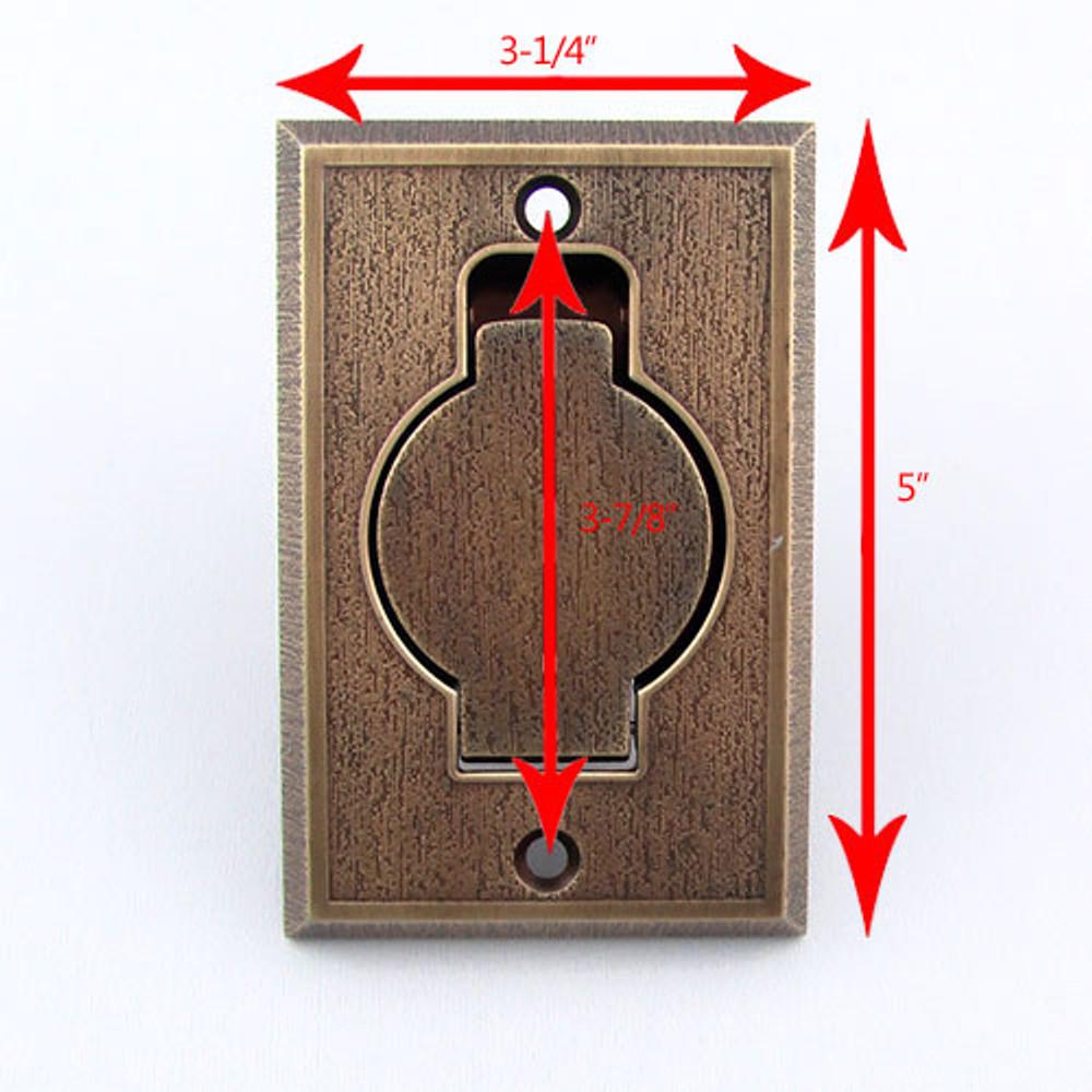 Metal Inlet Valve Dimensions