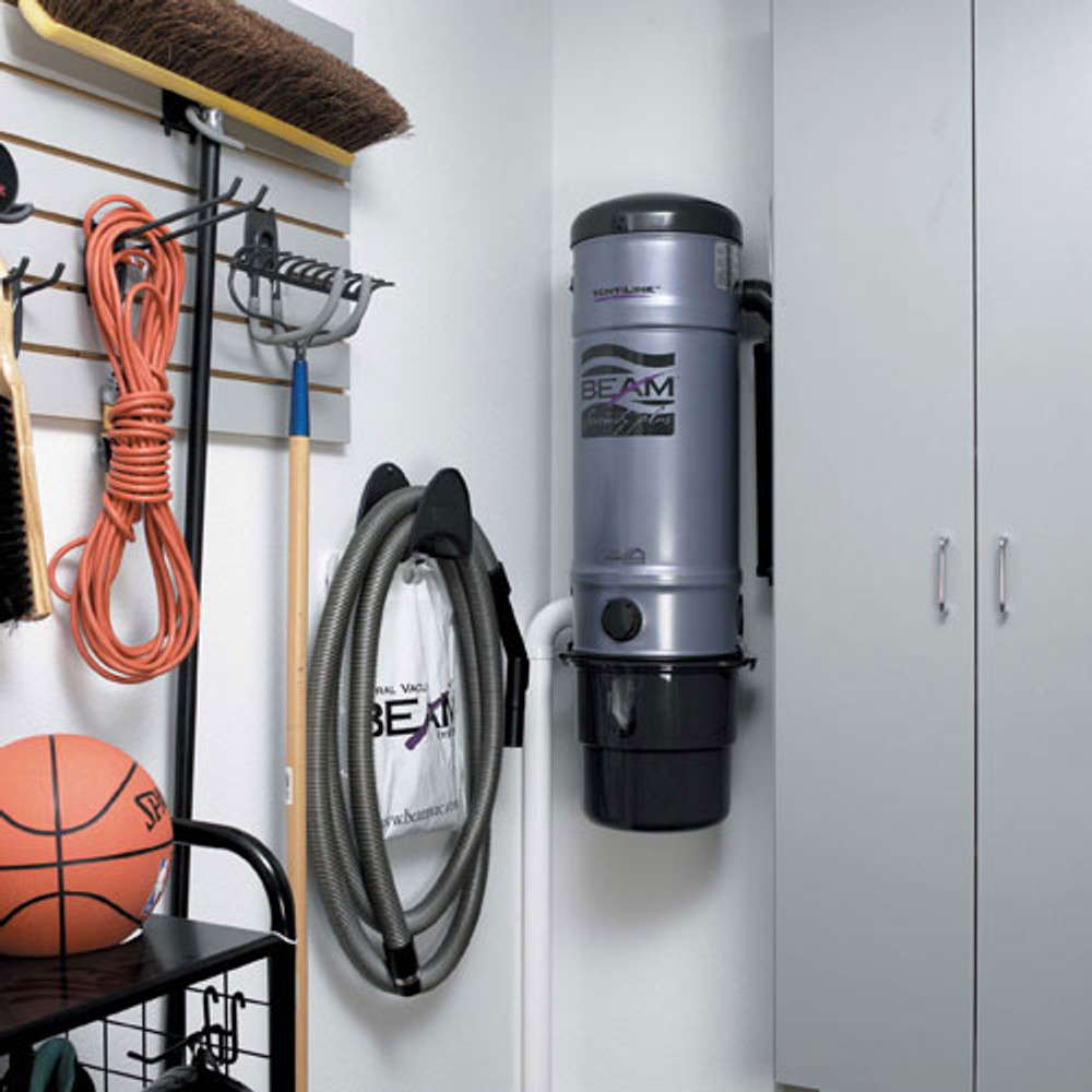Central Vacuum Hose Rack