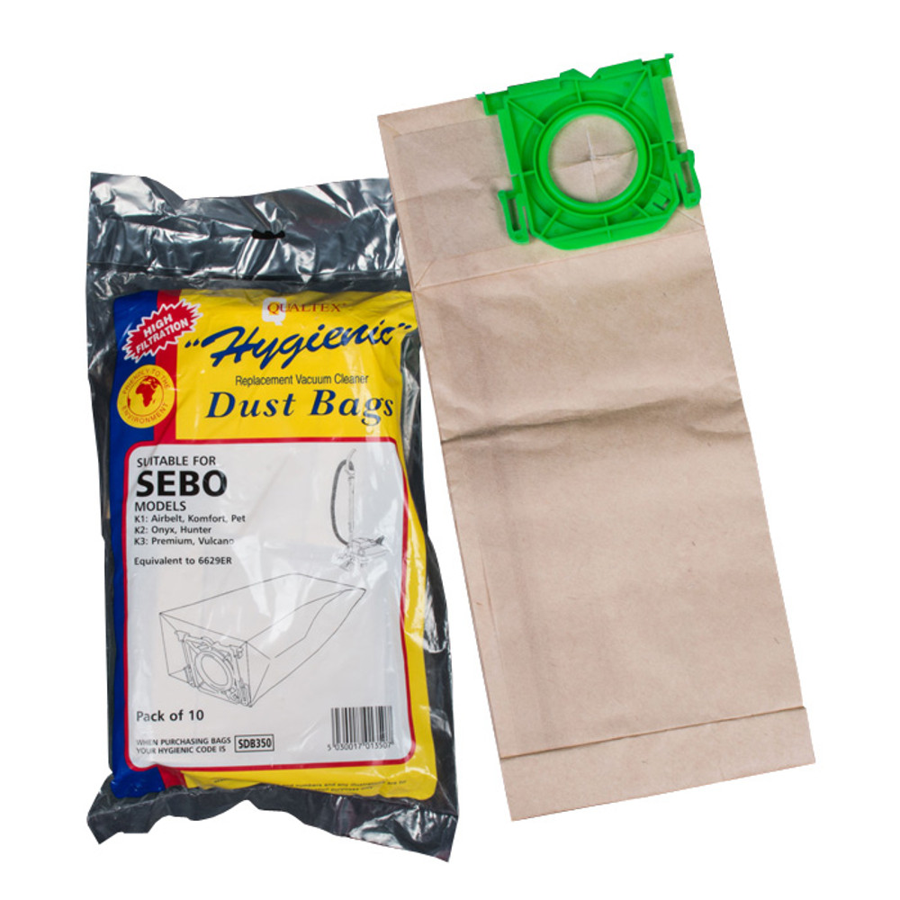 SEBO K Series Vacuum Cleaner Bags.