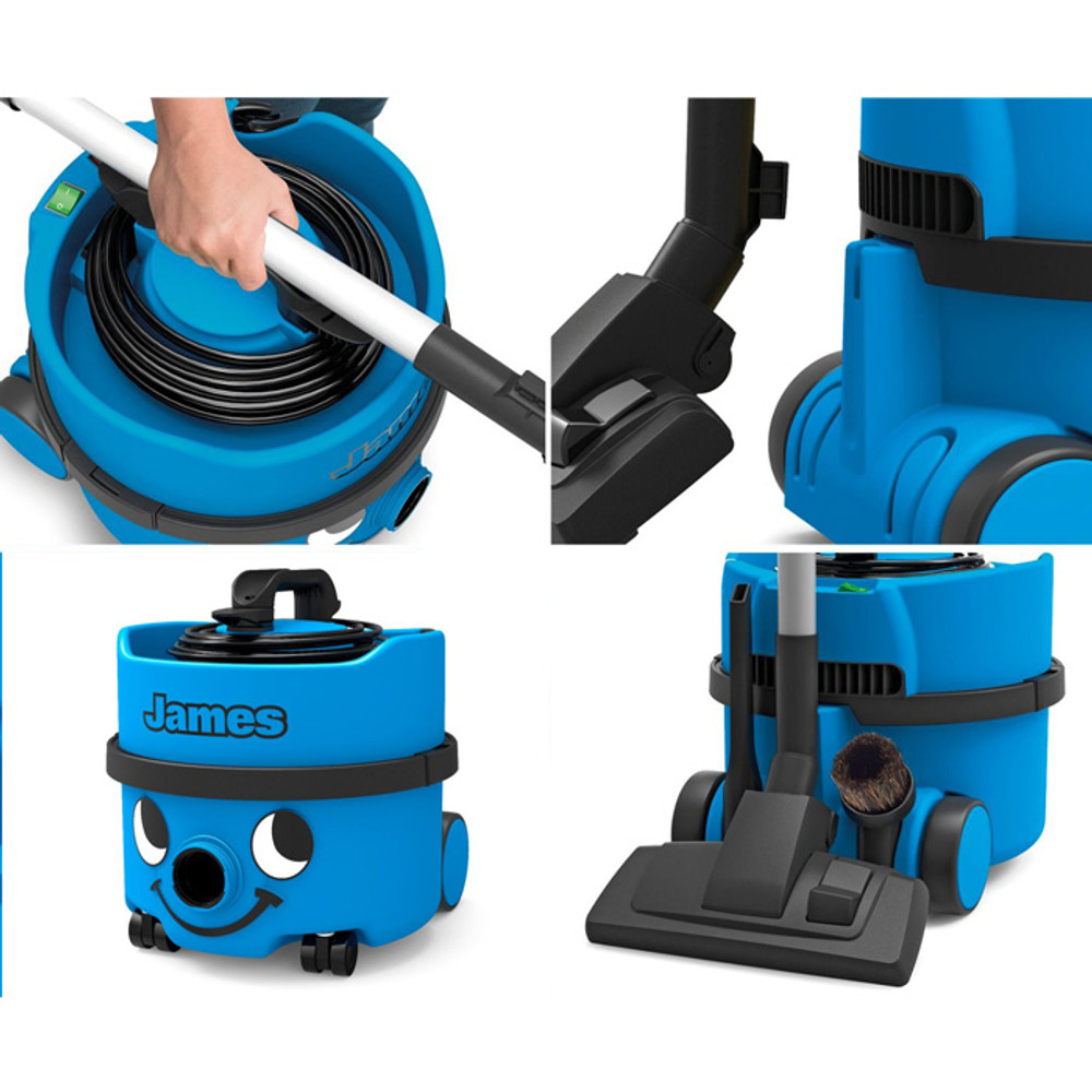 Easily dock the combination tool on the back of the vacuum