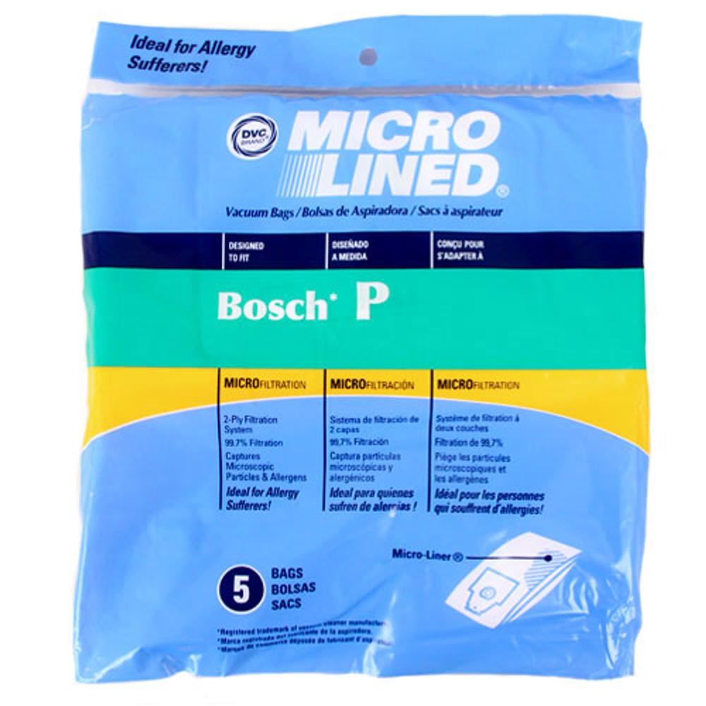 Bosch Vacuum Bags Type P 5pk