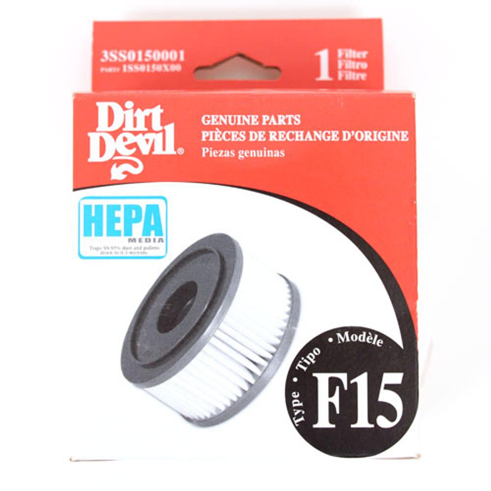 Dirt Devil F15 HEPA Filter
