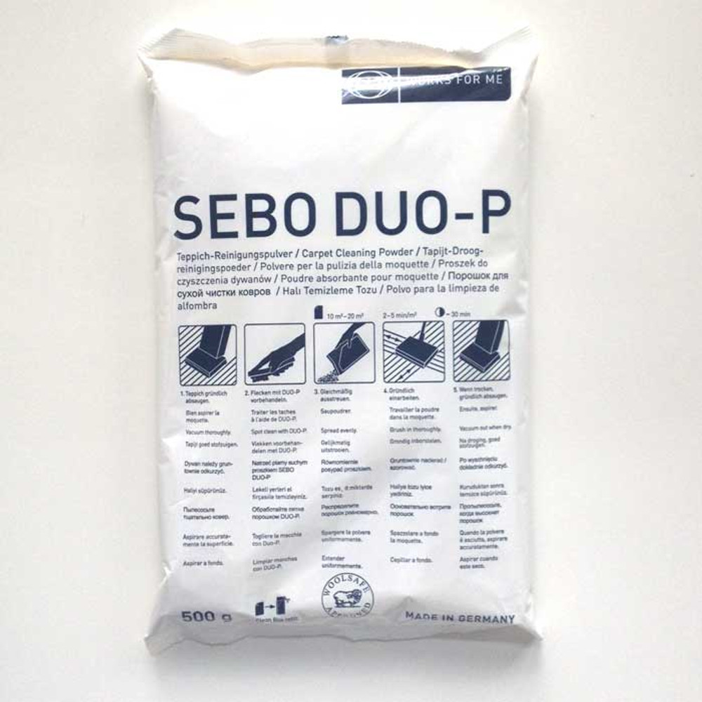 SEBO DUO-P Carpet Cleaning Powder