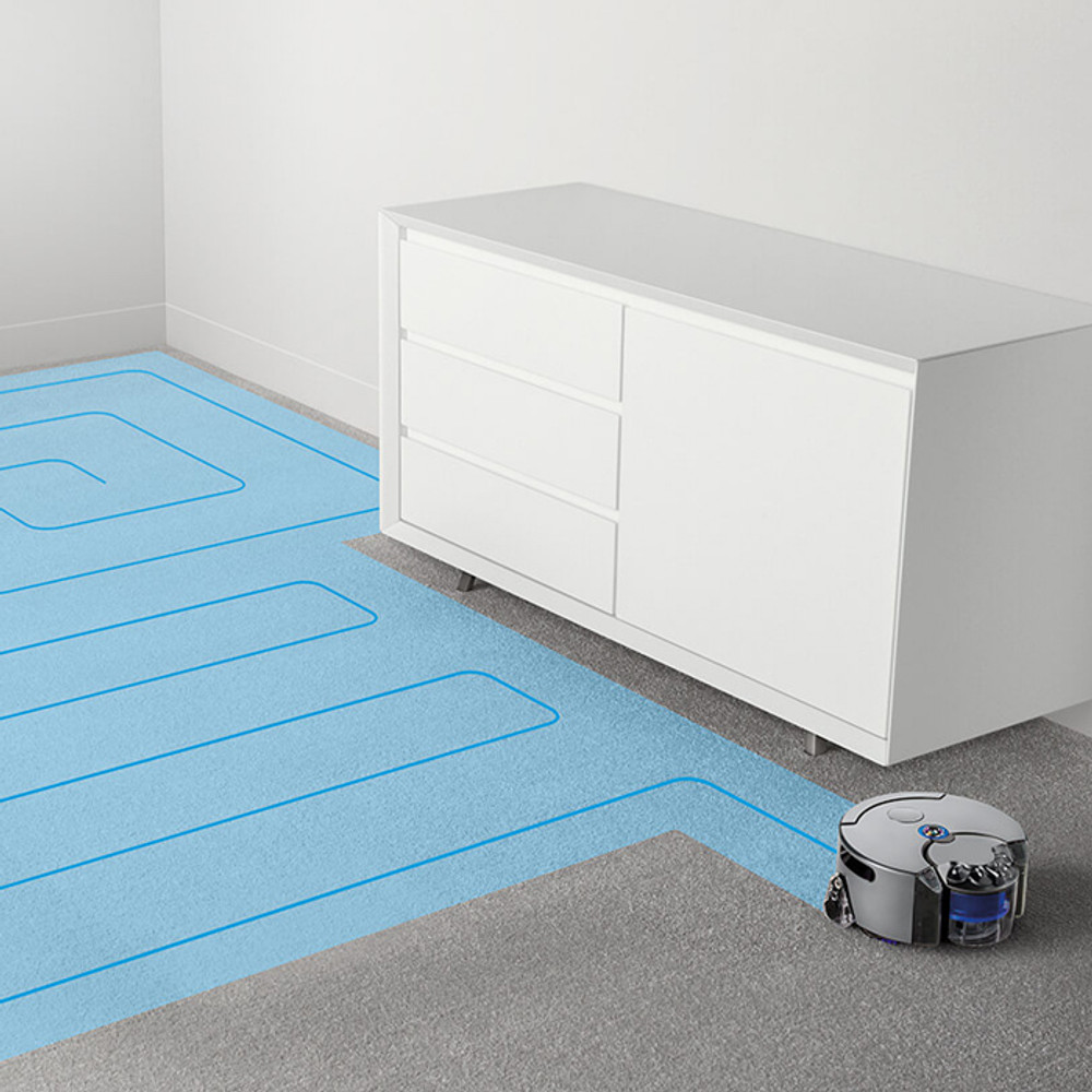 Dyson Robot Vacuum Mapping Grid